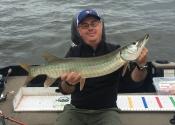 """Un petit 33"""" pour un petit 2 heures de pêche (28 août)"""