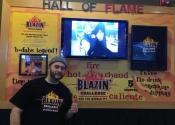 01 - Maxime a relevé le Blazin\' Challenge de Buffalo Wild Wings!