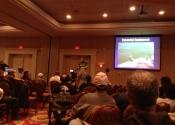 08 - Jim Saric donne sa conférence sur la pêche à la traîne