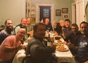 Le soir on s'est fait un gros souper spaghetti!