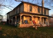 La maison bicentenaire qu'on avait loué pour notre séjour.