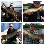 Très belle sortie de pêche avec l'ami Jimmy! L'action était au rendez-vous!