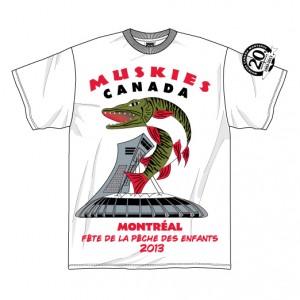 Chaque enfant inscrit recevra un t-shirt 20e anniversaire du chapitre de Montréal comme celui ci