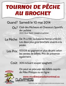 Tournoi Brochet 2014