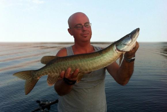 "Un petit 29"" après 15 minutes de pêche"